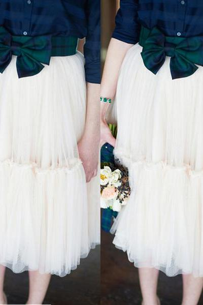 Lovely Multi-layers Tulle Tutu Skirts Bridesmaid Skirts